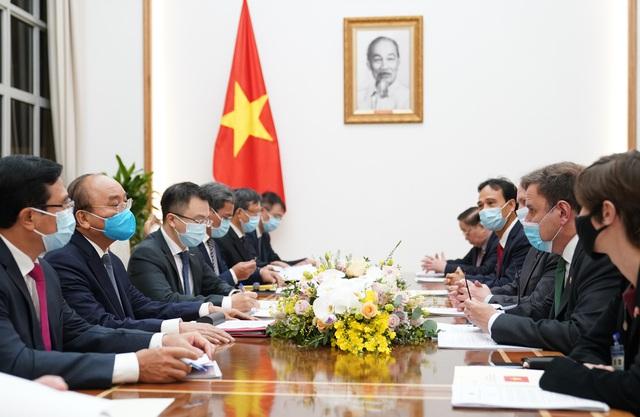 Thủ tướng hoan nghênh Tập đoàn Vương quốc Anh đầu tư dự án điện gió tại Việt Nam - Ảnh 1.