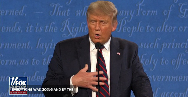 Ông Donald Trump và Joe Biden tranh luận gay gắt về vấn đề Tòa án Tối cao và dịch COVID-19 - Ảnh 1.