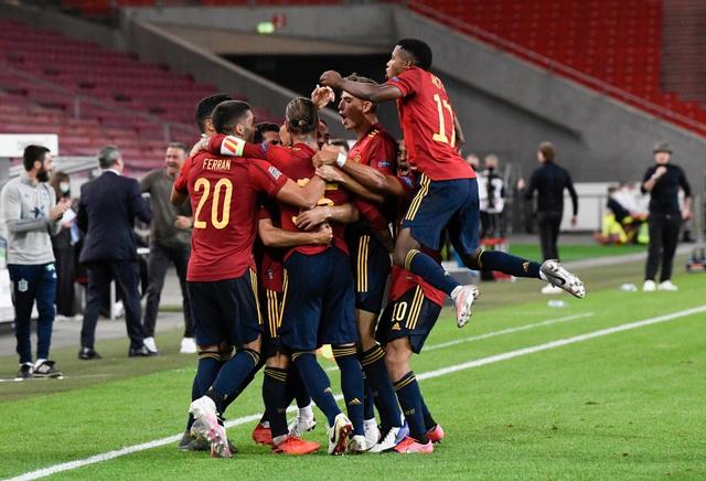 UEFA Nations League sáng 4/9: ĐT Đức 1-1 Tây Ban Nha, Ukraine 2-1 ĐT Thuỵ Sĩ - Ảnh 2.