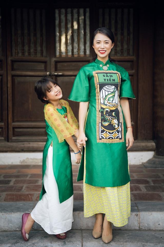 NTK Cao Minh Tiến đưa nghệ thuật Bài Chòi vào áo dài - Ảnh 6.