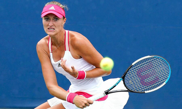 Vòng 2 đơn nữ Mỹ mở rộng: Kristina Mladenovic thất bại bất ngờ - Ảnh 1.