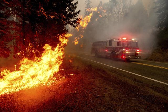 Hỏa hoạn tại California (Mỹ) thiêu rụi diện tích rừng kỷ lục - Ảnh 1.