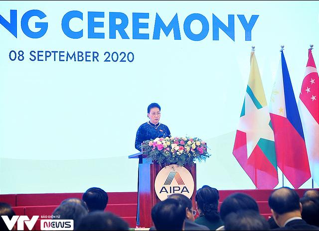 [ẢNH] Khai mạc trọng thể Đại hội đồng AIPA lần thứ 41 - Ảnh 2.