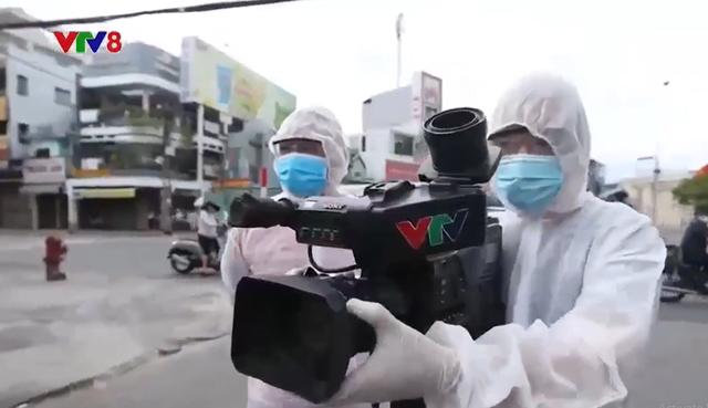 VTV8 trong tâm dịch Đà Nẵng - Ảnh 1.