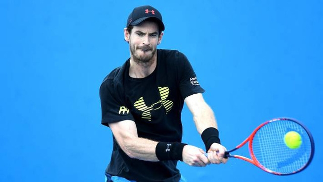 Andy Murray rút lui khỏi giải quần vợt Delray Beach mở rộng - Ảnh 1.