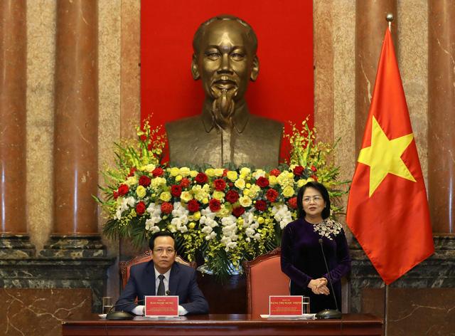 Phó Chủ tịch nước Đặng Thị Ngọc Thịnh gặp mặt tri ân những tấm lòng vàng năm 2020 - Ảnh 1.