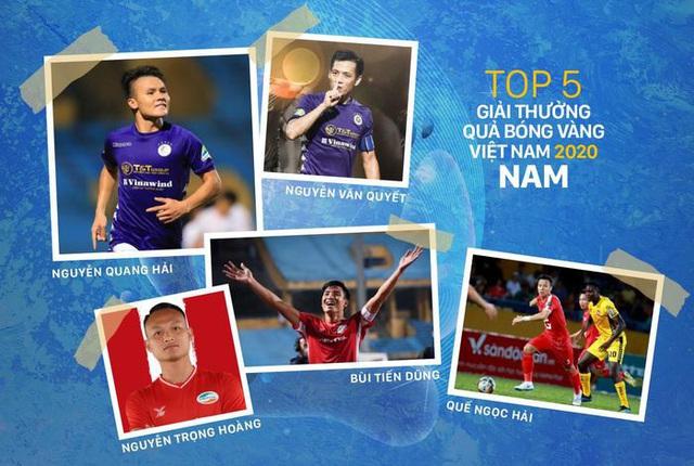 VTV tường thuật trực tiếp Gala Quả bóng Vàng Việt Nam 2020 - Ảnh 1.