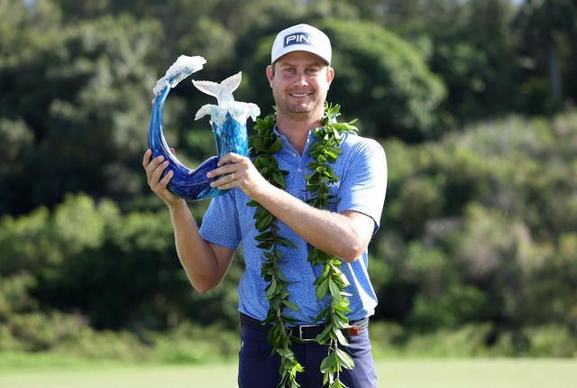 Harris English vô địch giải Golf Sentry Tournament of Champions 2021 - Ảnh 2.