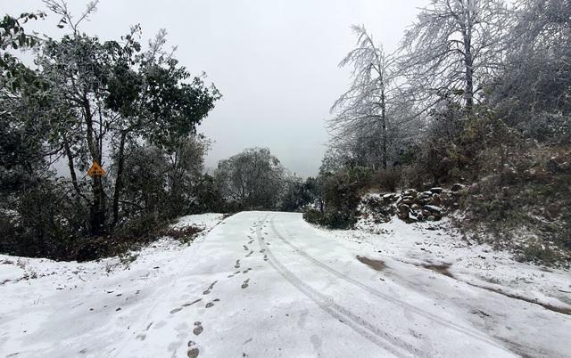 Mưa tuyết trắng trời Sa Pa và Y Tý - Ảnh 3.
