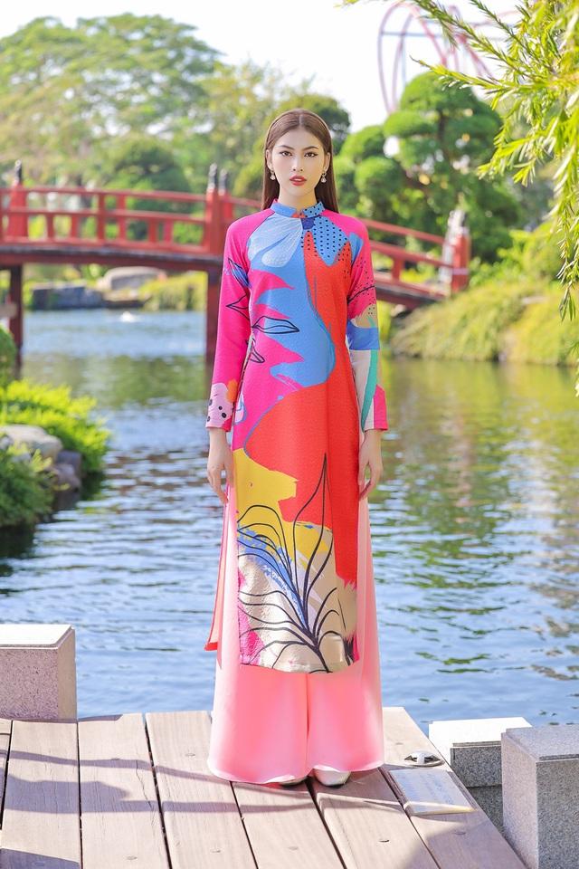 Á hậu Phương Anh, Ngọc Thảo gợi ý diện áo dài Tết nhiều màu - ảnh 6