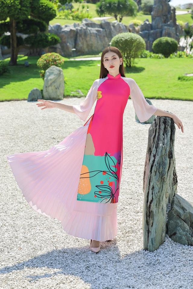Á hậu Phương Anh, Ngọc Thảo gợi ý diện áo dài Tết nhiều màu - Ảnh 5.