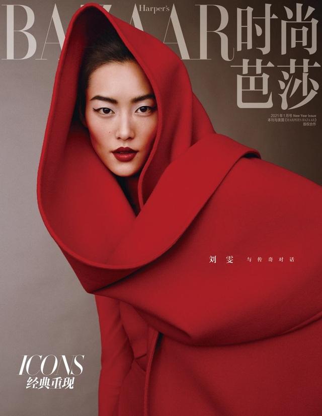 Siêu mẫu Lưu Văn và cú mở màn hấp dẫn cho Harper's Bazaar Trung Quốc - Ảnh 2.