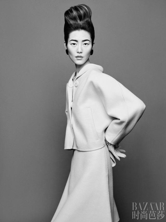 Siêu mẫu Lưu Văn và cú mở màn hấp dẫn cho Harper's Bazaar Trung Quốc - Ảnh 3.