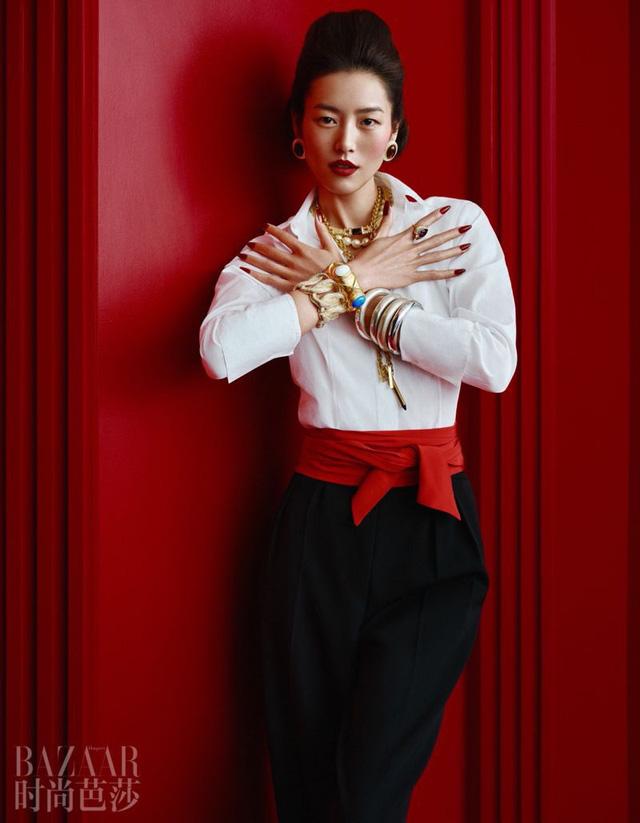 Siêu mẫu Lưu Văn và cú mở màn hấp dẫn cho Harper's Bazaar Trung Quốc - Ảnh 7.