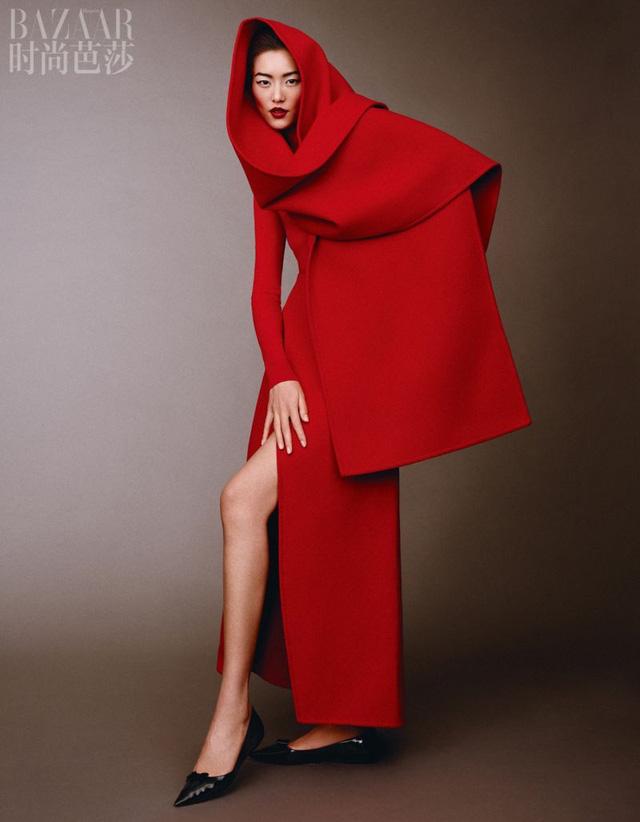Siêu mẫu Lưu Văn và cú mở màn hấp dẫn cho Harper's Bazaar Trung Quốc - Ảnh 8.
