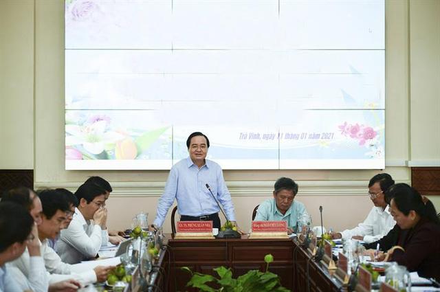 Trà Vinh sẽ có 163 trường với 698 lớp 2 triển khai chương trình mới - Ảnh 1.