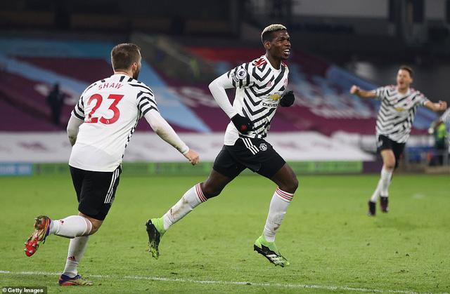 Burnley 0-1 Man Utd: Pogba lập công, MU độc chiếm ngôi đầu! - Ảnh 1.