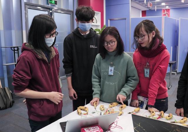 TechFair 2021 - Triển lãm khoa học hấp dẫn thu hút các bạn trẻ trên khắp địa bàn thành phố Hà Nội - Ảnh 2.