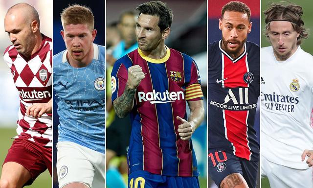 Lionel Messi kiến tạo xuất sắc nhất thập niên 2011-2020 - Ảnh 1.