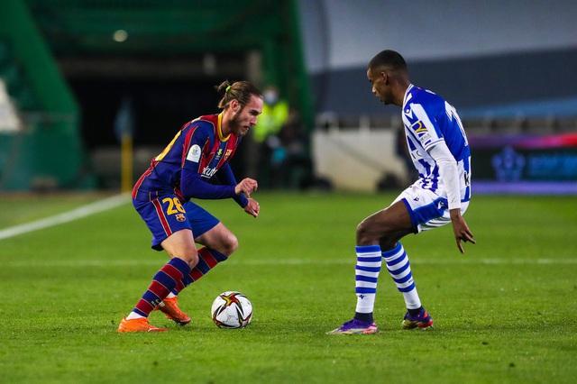 Không Messi, Barca vất vả vào chung kết Siêu cúp Tây Ban Nha - Ảnh 1.