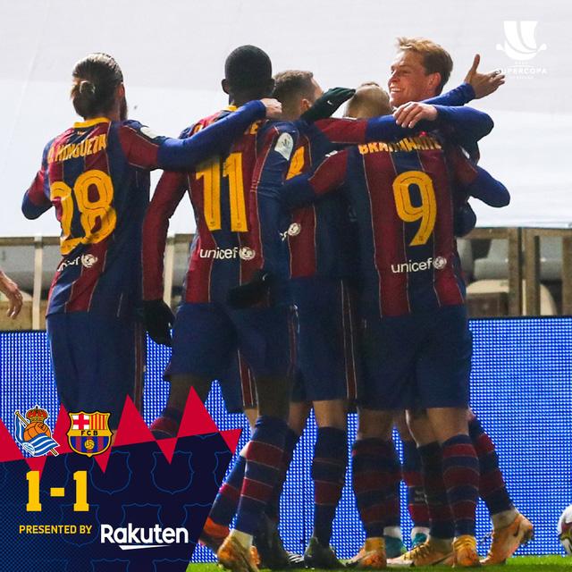 Không Messi, Barca vất vả vào chung kết Siêu cúp Tây Ban Nha - Ảnh 4.