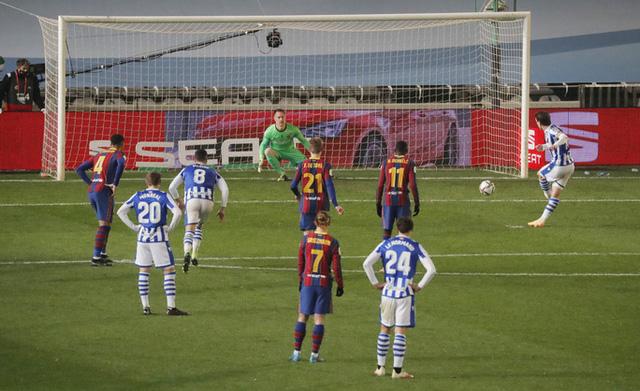 Không Messi, Barca vất vả vào chung kết Siêu cúp Tây Ban Nha - Ảnh 2.