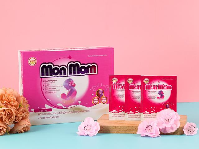 Monmom – Sự lựa chọn tuyệt vời về lợi sữa và bổ sung dưỡng chất cho mẹ sau sinh - Ảnh 1.