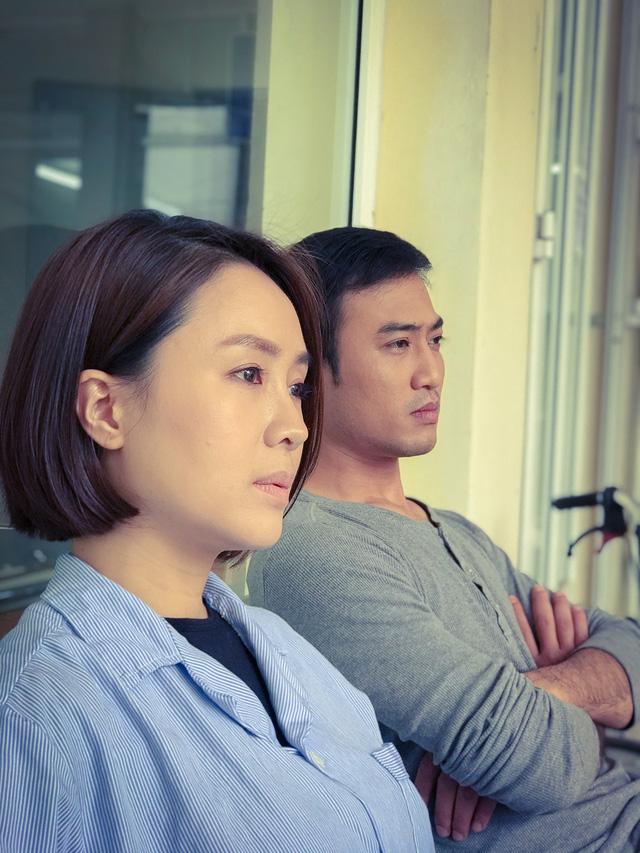 Lộ ảnh Hướng dương ngược nắng: Phúc (Quốc Đam) trở thành nam chính, cùng với Minh Châu (Hồng Diễm) là một đôi về sau? - ảnh 3