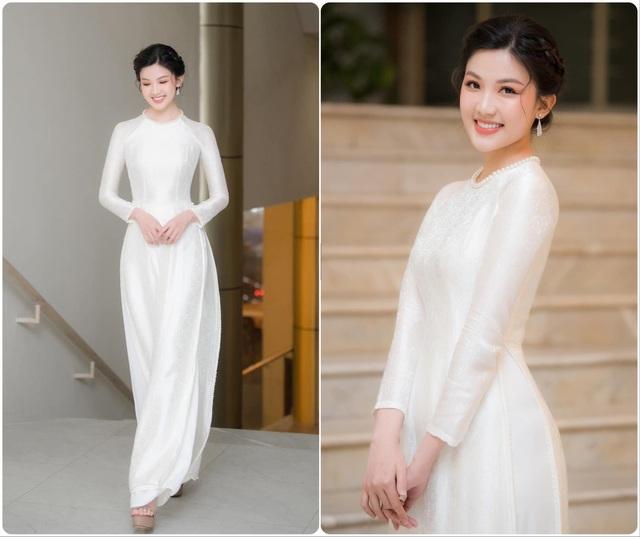 Hồng Diễm, Phương Oanh cùng dàn diễn viên diện áo dài: Ai xinh đẹp hơn? - Ảnh 2.