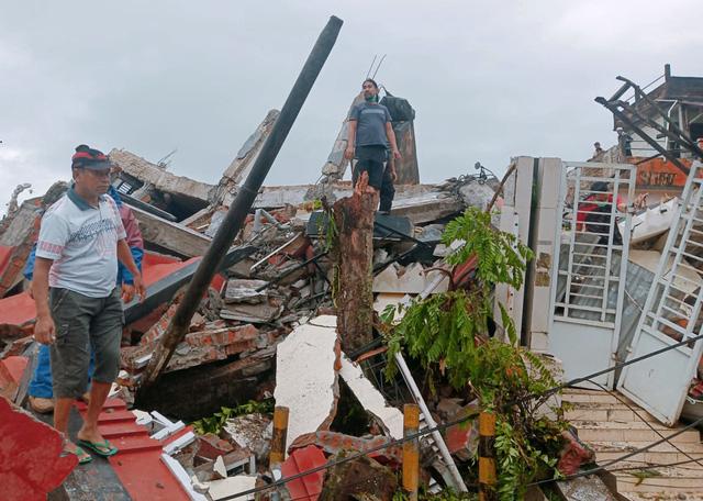 Động đất mạnh 6,2 độ tại Indonesia, ít nhất 7 nạn nhân thiệt mạng, hàng trăm người bị thương - Ảnh 1.