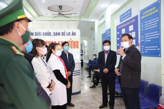 Kiểm tra công tác phòng dịch COVID-19 trước Tết Nguyên đán tại Lào Cai - Ảnh 1.