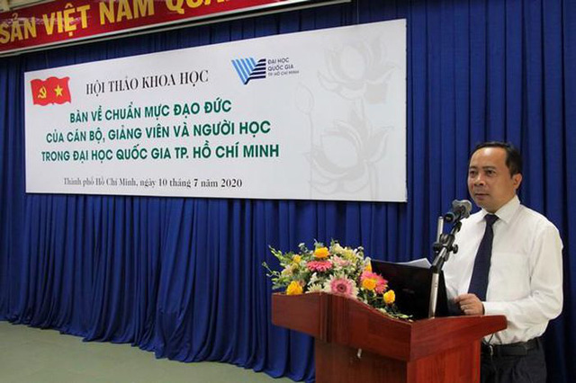 ĐH Quốc gia TP Hồ Chí Minh có tân Giám đốc 47 tuổi - ảnh 1