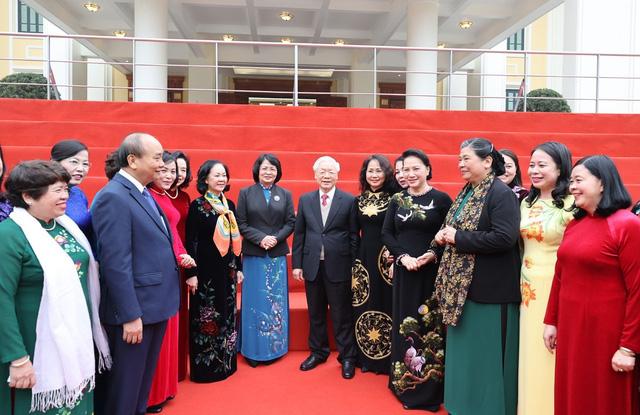 ẢNH: Tổng Bí thư, Chủ tịch nước Nguyễn Phú Trọng và các đại biểu dự Hội nghị Trung ương 15 - Ảnh 2.