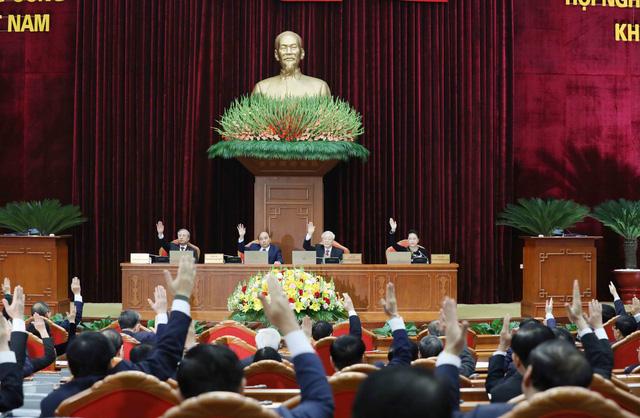 ẢNH: Tổng Bí thư, Chủ tịch nước Nguyễn Phú Trọng và các đại biểu dự Hội nghị Trung ương 15 - Ảnh 8.