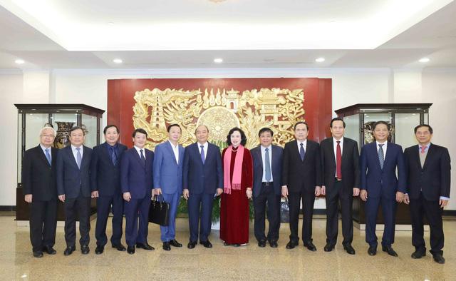 ẢNH: Tổng Bí thư, Chủ tịch nước Nguyễn Phú Trọng và các đại biểu dự Hội nghị Trung ương 15 - Ảnh 4.