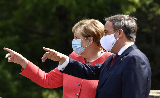 Ông Armin Laschet kế nhiệm bà Angela Merkel làm Chủ tịch đảng Dân chủ Thiên chúa giáo Đức - Ảnh 1.