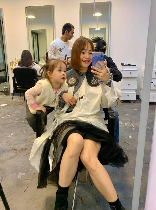Lan Phương khoe cắt tóc mới đón Tết - Ảnh 3.