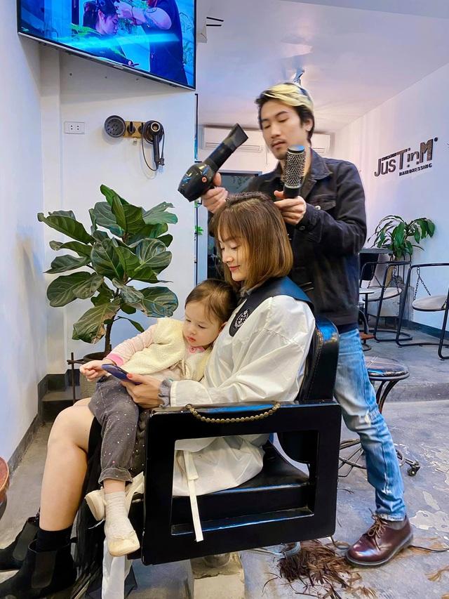 Lan Phương khoe cắt tóc mới đón Tết - Ảnh 2.