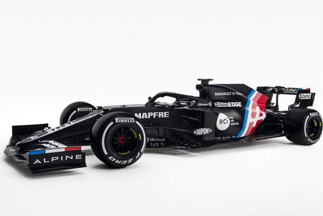 Đội đua Alpine công bố thiết kế sơ bộ xe mùa 2021 - Ảnh 1.