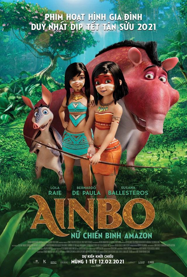Ainbo: Nữ thần chiến binh Amazon ra rạp mùng 1 Tết - Ảnh 1.