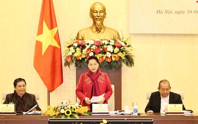 Chủ tịch Quốc hội chủ trì Phiên họp thứ 2 Hội đồng bầu cử Quốc gia - Ảnh 2.