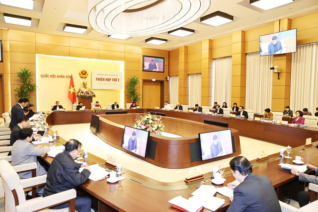Chủ tịch Quốc hội chủ trì Phiên họp thứ 2 Hội đồng bầu cử Quốc gia - Ảnh 3.