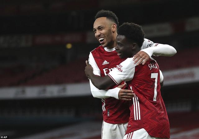 Partey trở lại, Arsenal đại thắng Newcastle - Ảnh 2.