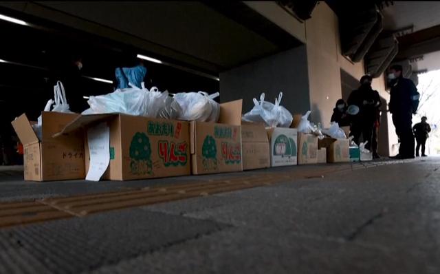 Đại dịch COVID-19 phơi bày góc khuất đói nghèo tại Nhật Bản - Ảnh 1.