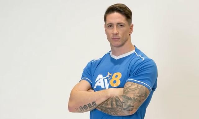Fernando Torres biến hình thành lực sĩ ở tuổi 36 - Ảnh 1.