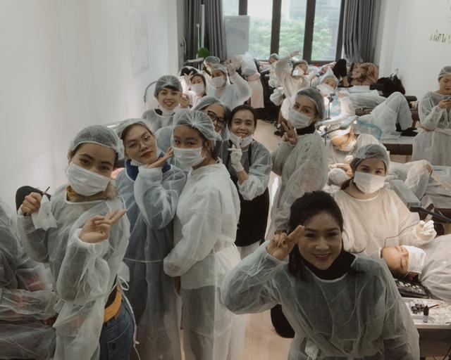 SexybrowGH - Kỹ thuật phun xăm đỉnh cao và sự đón nhận từ các Master chuyên nghiệp tại Việt Nam - Ảnh 9.