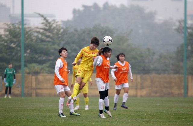 Đội hình trẻ tuyển nữ Quốc gia thắng đậm đội nữ Hà Nội II - Ảnh 4.