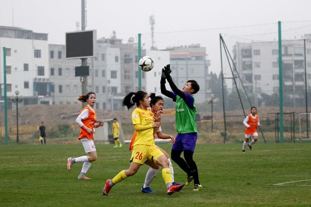Đội hình trẻ tuyển nữ Quốc gia thắng đậm đội nữ Hà Nội II - Ảnh 5.