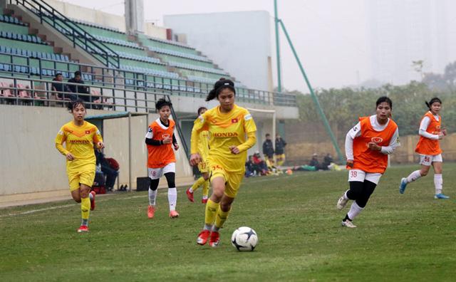 Đội hình trẻ tuyển nữ Quốc gia thắng đậm đội nữ Hà Nội II - Ảnh 2.