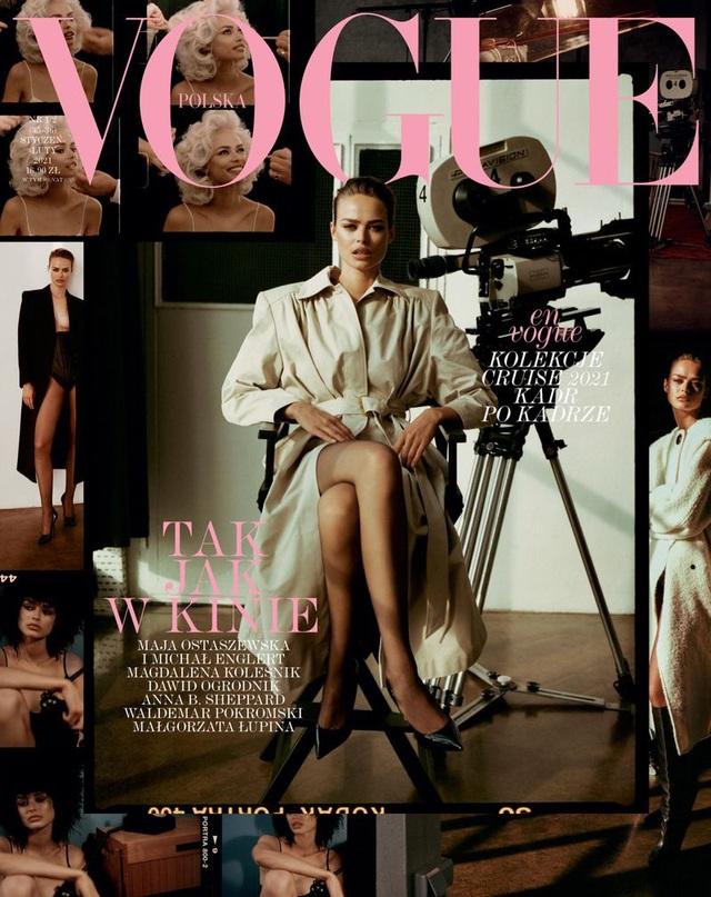Birgit Kos siêu đẹp và cổ điển trên Vogue Ba Lan - ảnh 1